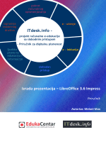 Prezentacije - LibreOffice Impress - priručnik