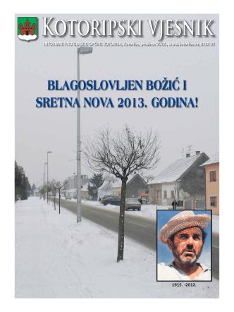 BLAGOSLOVLJEN BOŽIĆ I SRETNA NOVA 2013. GODINA!