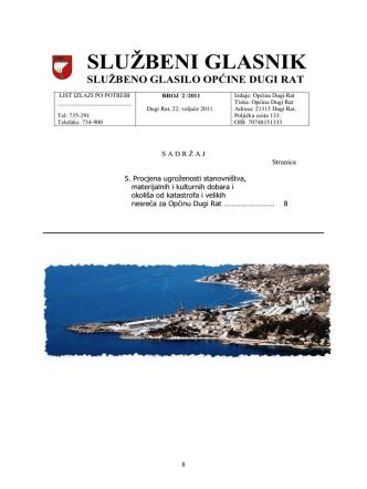 2-2011 - Općina Dugi Rat