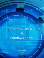 Programski jezik C# & Windows Forms