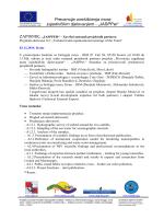 """""""JASPPer"""" www.cbccro-mne.org - Hidrometeoroloski zavod Crne Gore"""