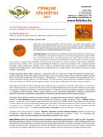 Finalni izvještaj 2014