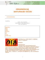 maturalne zabave - Hotel Villa Valpovo