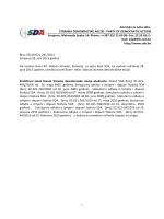STATUT SDA – Prečišćeni teks