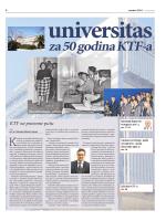 Universitas za 50 godina KTF-a - Kemijsko