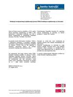 19.02.2013. Ukidanje tromjesečnog izvještavanja prema FINA