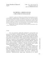 SLOBODA, LIBERALIZAM I MULTIKULTURALIZAM