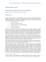 Monitoring medija, 1/2012. Medijski sustav i medijska politika u