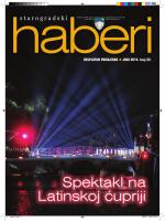Starogradski haberi 22 - Općina Stari Grad Sarajevo