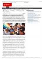 Mladen Lojkić: Liberalizam – ideologija protiv Boga i Ċovjeka