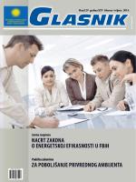 Nacrt ZakoNa o eNergetskoj efikasNosti u fBiH Za poBoljšaNje