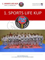 1. SPORTS LIFE KUP - Karate klub TEMPO :: ZAGREB