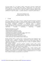 Kurikulum 2014/2015 - Škola za klasični balet, Zagreb