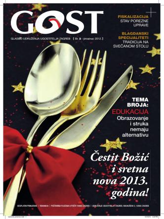 Čestit Božić i sretna nova 2013. godina!