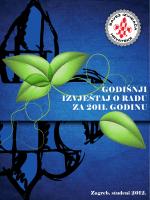 godišnji izvještaj o radu za 2011. godinu