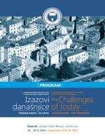 Program konferencije - Konferencija