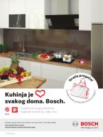 Kuhinja je srce svakog doma. Bosch.
