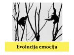 Evolucijske teorije emocija
