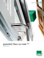 greenteQ Okov za vrata Q04