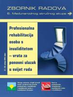 Profesionalna rehabilitacija osoba s invaliditetom – vrata za