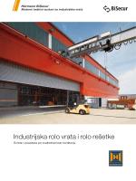 Industrijska rolo vrata i rolo rešetke