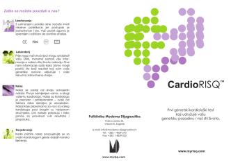 CardioRISQ - Poliklinika Moderna dijagnostika