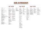 DAN D / PROGRAM