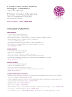 Sponsorship possibilities (Croatian)