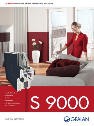 Brochure S 9000 system / GEALAN