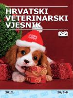 1 vet A.indd - Hrvatska Veterinarska Komora