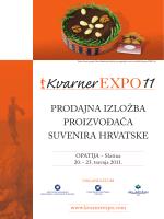 prodajna izložba proizvođača suvenira hrvatske