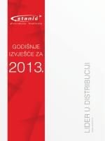 Godišnje izvješće za 2013.