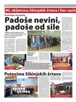 80. obljetnica Sibinjskih žrtava i Dan općine Sibinj