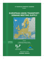 european union transport - Econex Verkehrsconsult GmbH