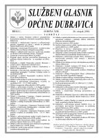 glasnik 015.cdr - Općina Dubravica
