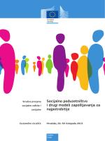 Socijalno poduzetništvo i drugi modeli zapošljavanja za najpotrebitije