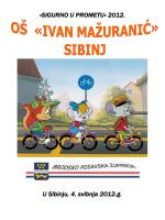 Sigurno u prometu 2012. Bilten / LINK pdf