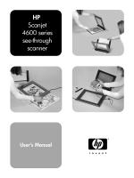 HP Scanjet 4600 series see