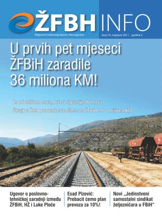 Broj 19 - Željeznice Federacije Bosne i Hercegovine!!!!!!!!