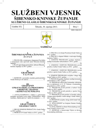 01-13 - Šibensko-kninska županija