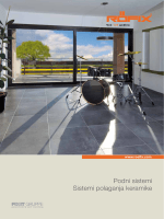 Podni sistemi Sistemi polaganja keramike