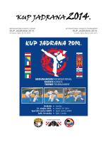 KUP JADRANA 2014 - Karate klub Sokol Split