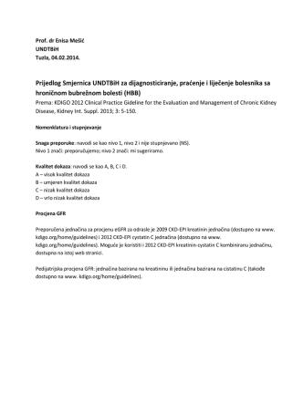 - Udruženje ljekara za nefrologiju, dijalizu i