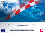 2. EU Projekti Ministarstva poduzetništva i obrta namijenjeni razvoju