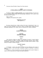 9. Na osnovu člana 95 tačka 3 Ustava Crne Gore donosim