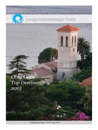 Crna Gora Top Destinacije u 2015