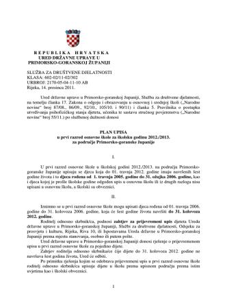 1 republikahrvatska ured državne uprave u primorsko