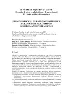 Dijagnostičke i terapijske smjernice za liječenje alkoholom