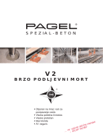 v2 brzo podljevni mort - Pagel Spezial