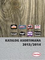 KATALOG ASORTIMANA 2013/2014 - Ceresit